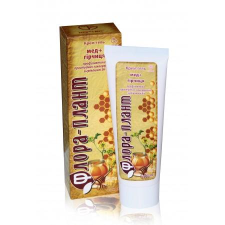 Крем-гель «Флора – плант» Мёд + горчица