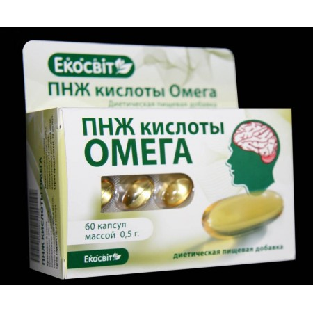 ПНЖ кислоты Омега (Экосвит Ойл)